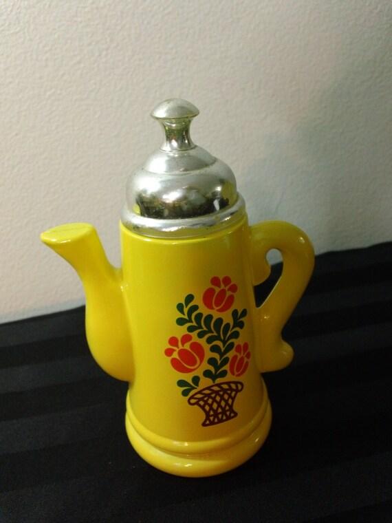 Vintage 70s Avon Koffee Klatch Bottle Decanter