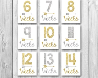 Pregnancy countdown, baby countdown, gold sparkle, silver sparkle, pregnancy photo props