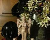 Lilith Statue: Stone, talisman, goddess, sacred, nature, altar, apothecary, ritual, meditation, spiritual, statue, feminine, witchery