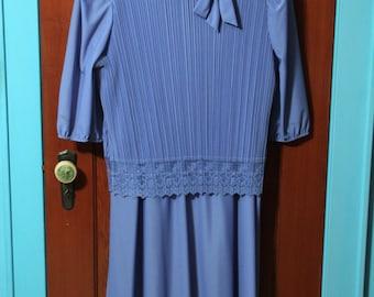 Items Similar To Blue 50 Dress Cornflower Blue Striped