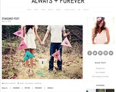 Responsive Wordpress Theme - Always + Forever - Responsive Blog Template
