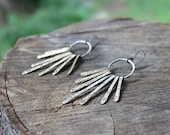 Darkness to Dawn Sunburst Earrings