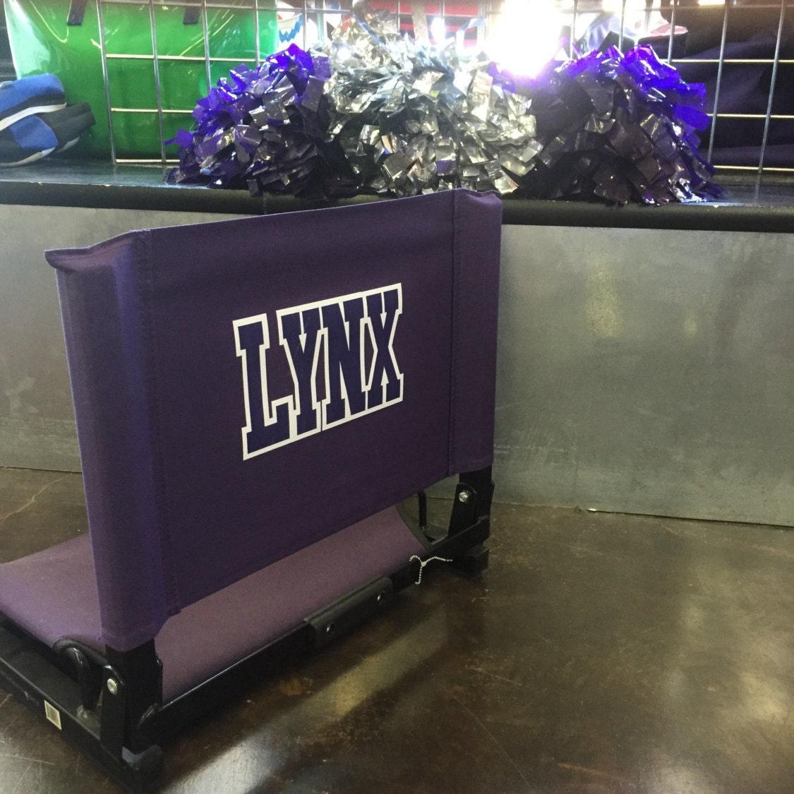 custom stadium chair