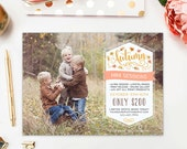 SALE Fall Mini Session Template, Autumn Mini Session Marketing Board, Fall Photography Marketing Template Advertisement - AD195