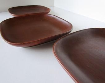 Vance Kitira Red Pottery Plates - 3