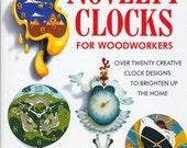 Novelty Clocks for Woodworkers by Raymond Haigh - Wooden Clock Patterns Book - 20+ Clock Patterns - Chicken, Cat, Clown, Balloon & Bears