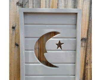 Pick a color! Phish Farmhouse Sign. Welcome this is a pharmhouse. Outhouse Moon. Woodcrafted hanging wall art.