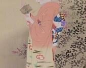 Japanese Fine Art Wall Hanging Scroll Bijin Beauty in Autumn season Kakejiku – 1505017