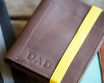 Wallet, PERSONALIZED Men's Leather Wallet, Groomsmen Gift, Mens Wallet, Gifts for Men
