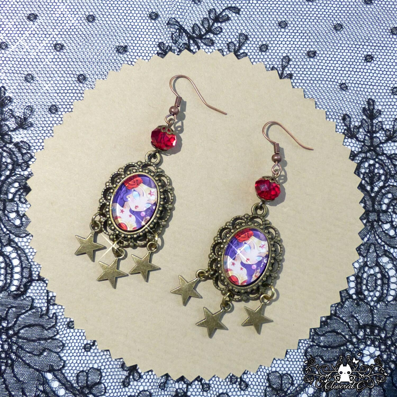 wonder woman earrings dc comicd fanart. Black Bedroom Furniture Sets. Home Design Ideas