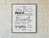 SALE // Mistake Print // Friendly // Hand Lettering // Love Quote Typography // Quote About Friendship