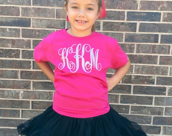 Monogrammed Youth Shirt