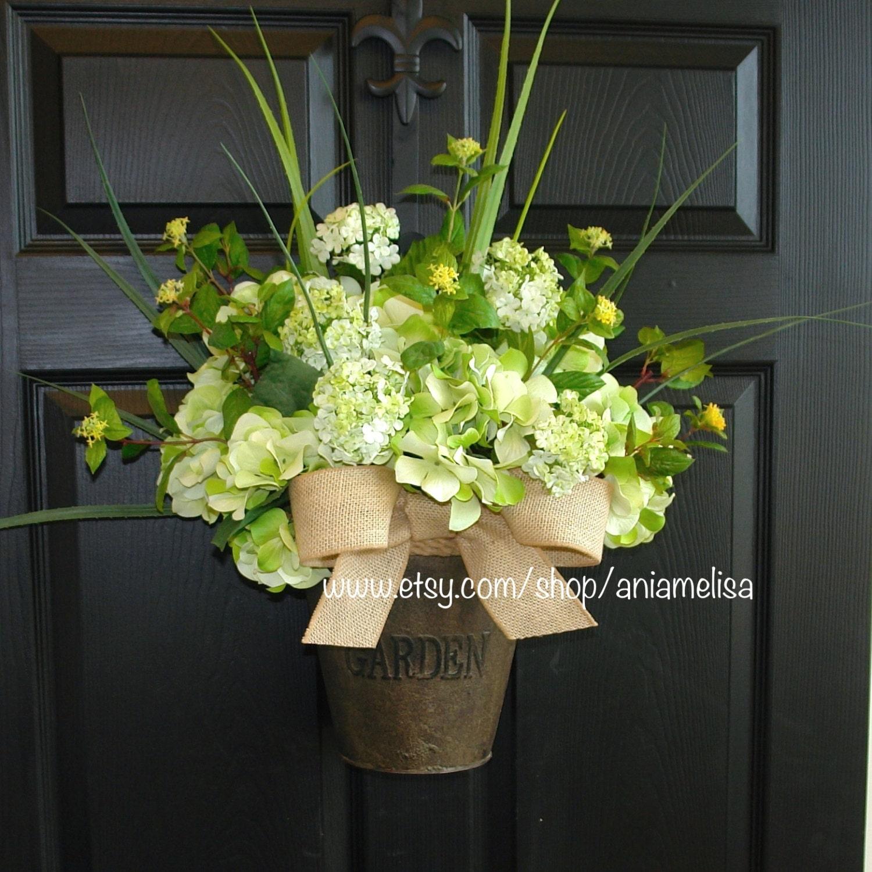 Spring Wreath Summer Wreaths Outdoor Wreaths For Front Door