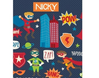 Personalized Super Hero Clipboard