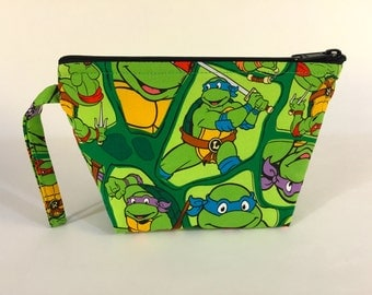 Teenage Mutant Ninja Turtles Make Up Bag - Accessory - Cosmetic Bag