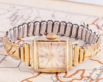 german women watch,Kinzle women watch,gold women watch,womens watches,watches for women,retro women watch,rectangular women watch