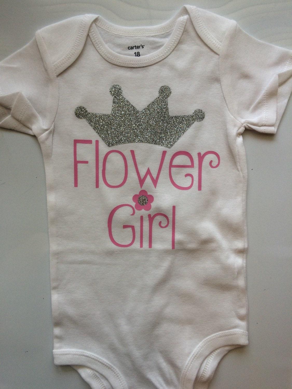 Flower Girl Shirt Flower Girl Gift Wedding Party t