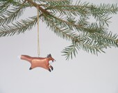Copper Foxes - set of 4