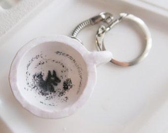 Grim Cup Keychain - grim keychain