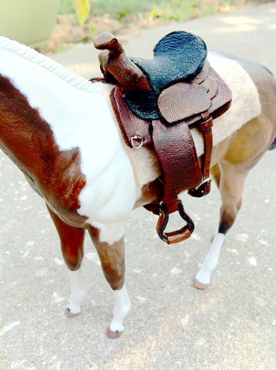Breyer Classic Sized Western Saddle 1:12
