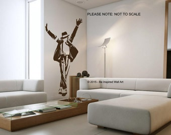MIcheal Jackson - Wall Art Sticker