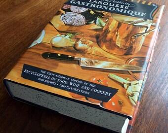 Vintage Cookbook, Larousse Gastronomique by Prosper Montagné, 1965