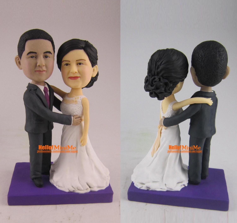 custom wedding cake topper bobblehead wedding cake topper. Black Bedroom Furniture Sets. Home Design Ideas
