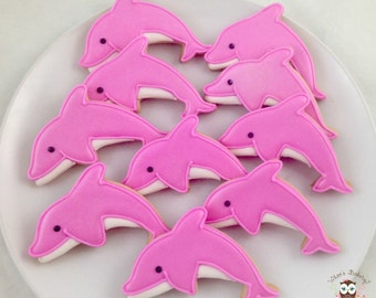 Dolphins Cookies