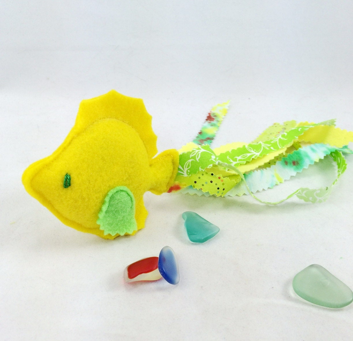 Unique fish catnip plushie organic catnip cat toy ooak cat for Fish cat toy