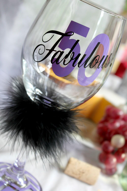 50 Fabulous Ways To Wear Glitter Nails Like A Boss: 50th Birthday 50 And Fabulous 50 & Fabulous Birthday