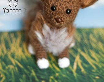 Mocha the Chihuahua -  PDF Crochet pattern