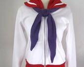 Sailor Mars Seifuku Cosplay Costume Hoodie Jacket