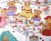 Bear Family Picnic Cloth,...