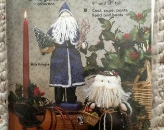 Old Time Santas Pattern