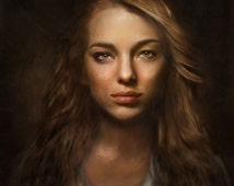 Custom Portrait, Custom Lady Portrait, Lady Commission, Custom Wedding, Engagement, Anniversary, Personalized Digital Drawing, Artimoment