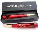 Firemen Gift. Firefighter 50 Caliber Bottle Breacher Bottle Opener. Husband Gift. Dad Gift. Anniversary Gift. Stocking Stuffer.