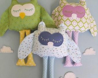 Owl Plush Toy, Baby Wholesale, Home Decor, Stuffed Doll, Girls Owl Pillow