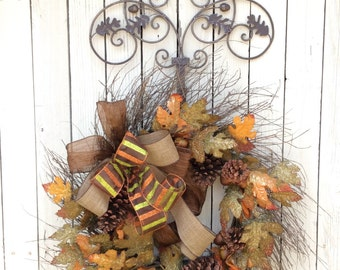 Wreath Hanger, Wreath Holder, Wreath Hook, Hanger for Wreaths, Metal wreath hanger, Door Wreath Hanger, Metal Door Hanger, Long Door Hook