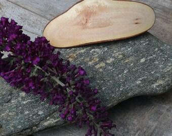Natural edged wood hair barrette- 80mm clasp-Natural hair-Hair Clip-Eco Natural wood-Stylist-Long Hair-Organic Hair Accessory-Eco fashion-