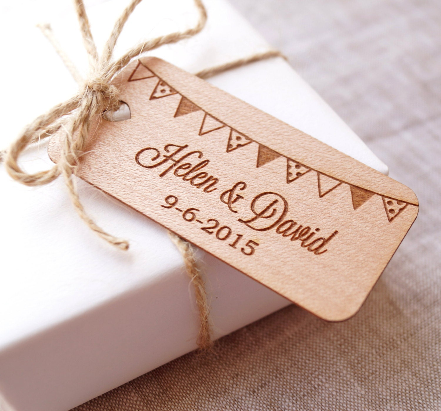 Personalized Wedding Gift Tag Stickers : Personalized wedding favor tags rustic wedding favor tags