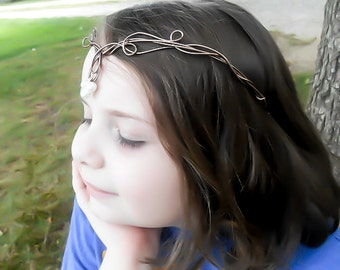 Elven Clothing - Medieval Crown - Elven Pearl Tiara - Elven Crown - Elven Headpiece - Elven tiara -  Renaissance Crown - Celtic Crown