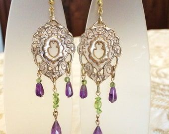 Teodolinda Earrings