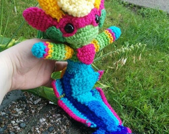 Made-To-Order Inspired by Riot's League of Legends River Spirit Nami Amigurumi