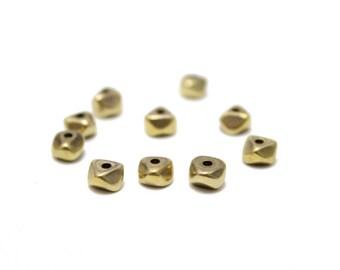 Irregular shaped Brass Spacers 11mm 10pcs