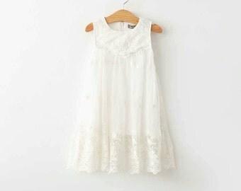 Girls White Tank Dress Nfl Dress Green Bay By Bailynnbounique