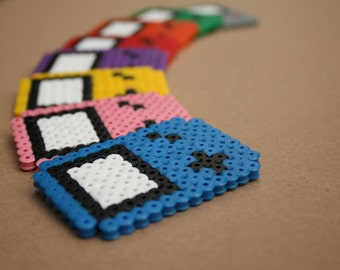 mini Game Boy Perler Hama - 8 different colors