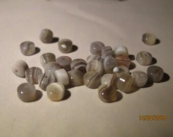 Agate Barrel loose Beads