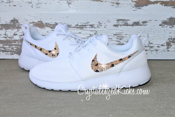6c07e16285f4 Nike Roshe Run White Platinum made with by CrystallizedKicks new ...