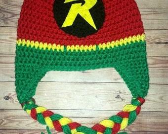 Crochet Robin Hat