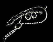 Mad Men Era Rhinestone Jewelry Set Vintage PERFECTION